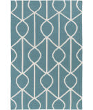 Surya York Ellie Teal - Ivory Area Rug