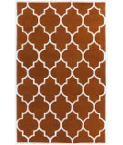 Surya Transit Piper Orange/White Area Rug