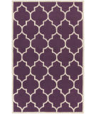 Surya Transit Piper Purple/White Area Rug