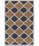 Surya Holden Maisie Charcoal - Rust Area Rug