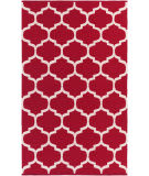 Surya Vogue Everly Red/White Area Rug