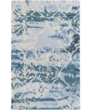 Surya Pacific Holly Teal - Beige Area Rug