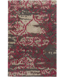Surya Pacific Holly Brown - Burgundy Area Rug