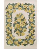 Surya Botany Gianna Yellow Area Rug