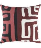 Surya Ethiopia Pillow Morocco Etpa7241 Terra Cotta