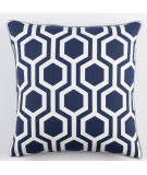 Surya Inga Pillow Thea Navy - White