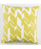 Surya Inga Pillow Josefine Lime - White