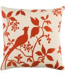 Surya Kingdom Pillow Birch Red - Beige