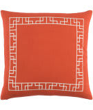 Surya Kingdom Pillow Rachel Red - White