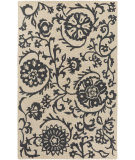 Surya Rhodes Maggie Charcoal Grey - Off-White Area Rug