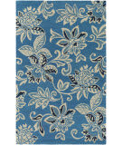 Surya Rhodes Elsie Teal Blue - Off-White Area Rug
