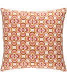 Surya Trudy Pillow Rosa Orange Multi