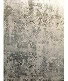 Azad 100 Knot Bamboo Silk ZR-01 Gray - Beige Area Rug