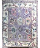 Azad Oushak Moroccan  Purple - Multi Area Rug
