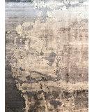 Azad Bamboo Silk 1MS3 Gray - Beige Area Rug