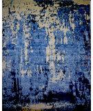 Azad 100 Knot Bamboo Silk RAS-127 Blue Area Rug