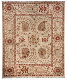 Azad Pakistan  Cream - Rust Area Rug