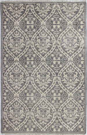 Bashian Artifact A154-Ar107 Grey Area Rug