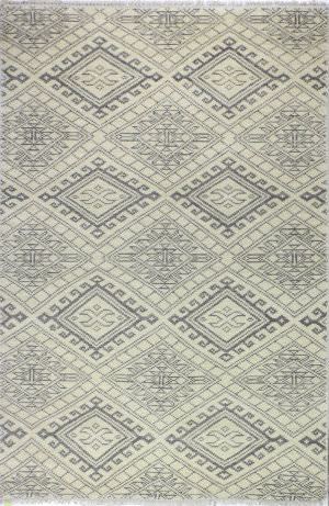 Bashian Artifact A154-Ar114 Ivory Area Rug