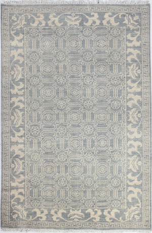 Bashian Artifact A154-Ar104 Slate Area Rug