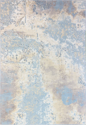 Bashian Amalfi Prs113 Light Blue Area Rug