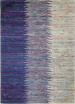 Bashian Spectrum C179-H1104 Blue - Ivory Area Rug