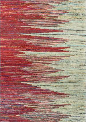 Bashian Spectrum C179-Ch106 Red - Beige Area Rug