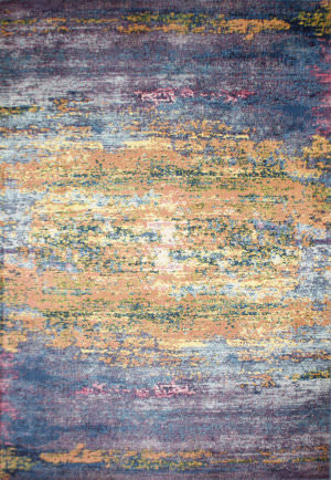 Bashian Charleston C186-Ro72a Blue Area Rug