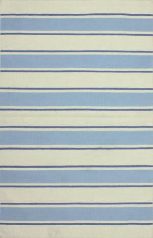 Bashian Hampton D105--Fw15 Ivory - Blue Area Rug