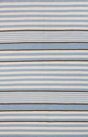 Bashian Hampton D105-Fw5 Ivory - Light Blue Area Rug