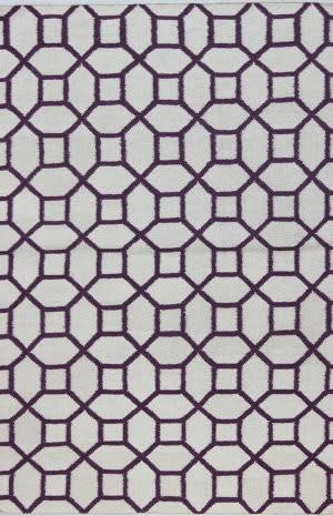 Bashian Hampton D105-Fw19 Ivory - Lilac Area Rug