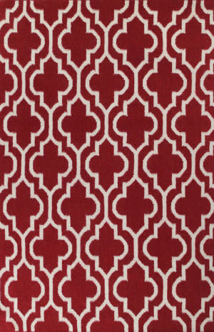 Bashian Hampton D105-Fw6 Red Area Rug