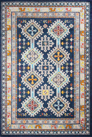 Bashian Dakota D113-Mh116 Navy Area Rug