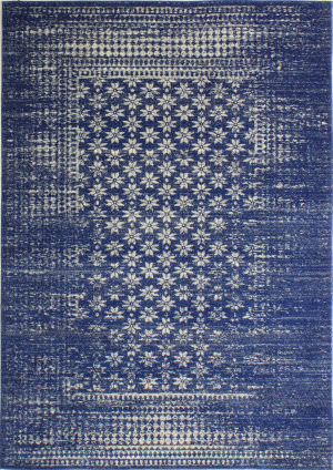 Bashian Everek E110-5362 Dark Blue Area Rug