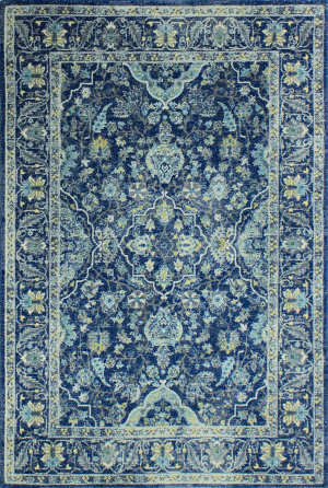 Bashian Everek E110-5394a Dark Blue Area Rug
