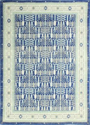 Bashian Everek E110-5395a Dark Blue Area Rug