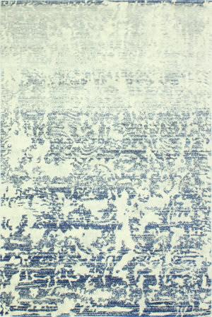 Bashian Everek E110-Mo747 Ivory-Blue Area Rug