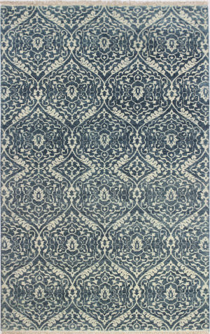 Bashian Heirloom H110-Hr105 Azure Area Rug