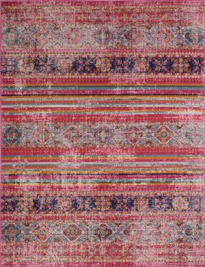 Bashian Heritage H114-Z041a Fuchsia Area Rug