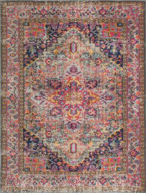 Bashian Heritage H114-Z034 Grey Area Rug