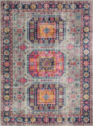 Bashian Heritage H114-Z042a Grey Area Rug