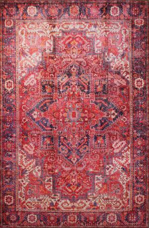 Bashian Impressions I166-Nr101 Rust Area Rug