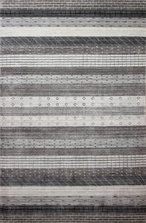 Bashian Terrain I167-Bln25 Grey Area Rug