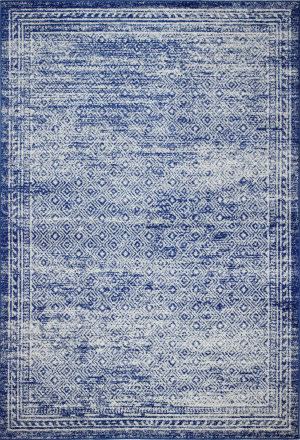 Bashian Mayfair M147-Mr607 Dark Blue Area Rug