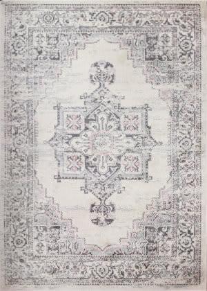 Bashian Mayfair Mh506 Ivory - Silver Area Rug