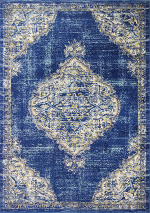 Bashian Mayfair Mh508 Navy Area Rug