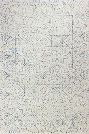 Bashian Venezia R120-Cl133 Ivory - Teal Area Rug