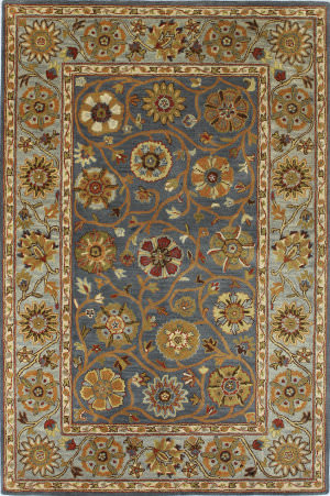Bashian Rajput R122-Rj152 Denim Area Rug