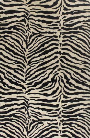 Bashian Greenwich R129-Hg241 Black Area Rug