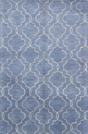 Bashian Greenwich R129-Hg266 Denim Area Rug